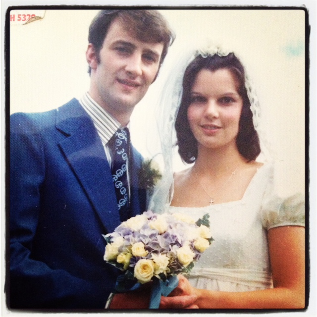 Mum and Dad: July 27th 1973