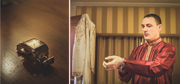 Hindu Wedding Photography - Groom Preparation