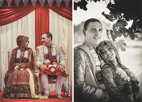 Hindu Wedding Bride and Groom