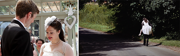 vintage wedding videography