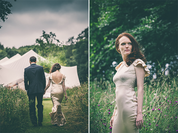 Relaxed bride Photography