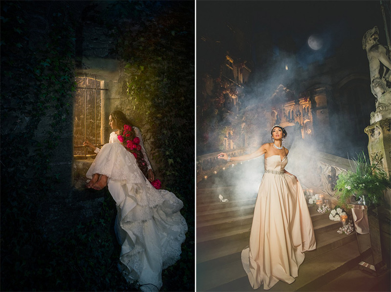Wedding Styled shoot real princesses