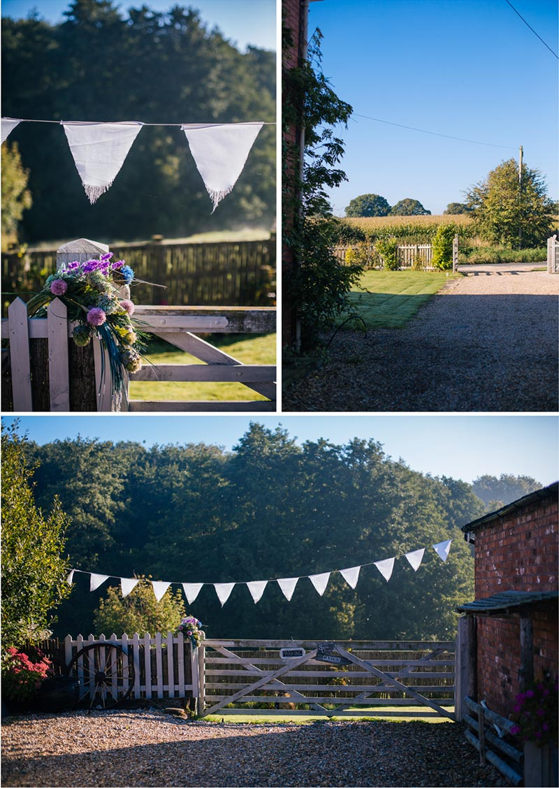 cheshire wedding bride preparation venue
