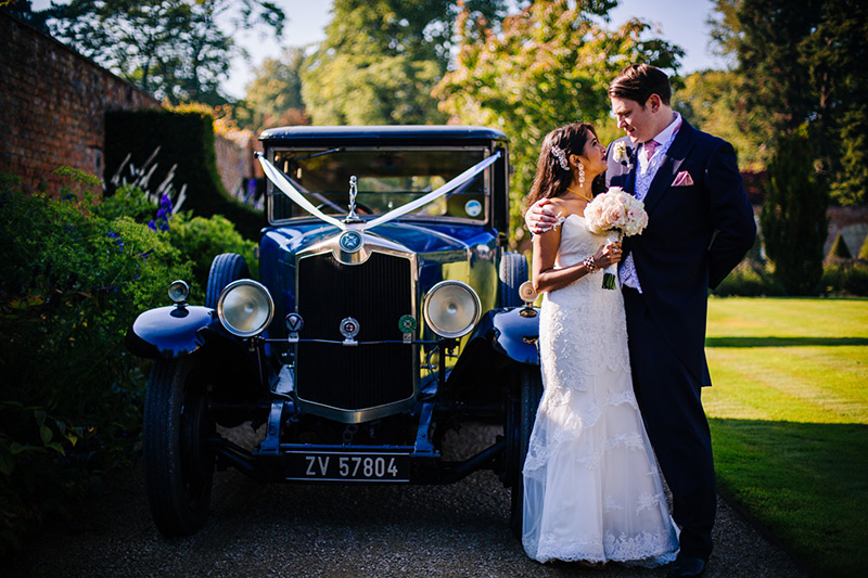 cheshire wedding car