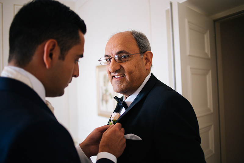 Persian father of the bride Stockholm