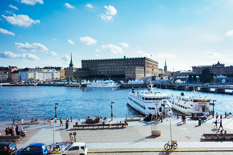 harbour view Grand Hotel Stockholm