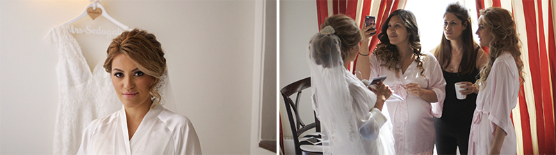 Bridal preparation Brollopsvideo Grand Hotel Saltsjobaden