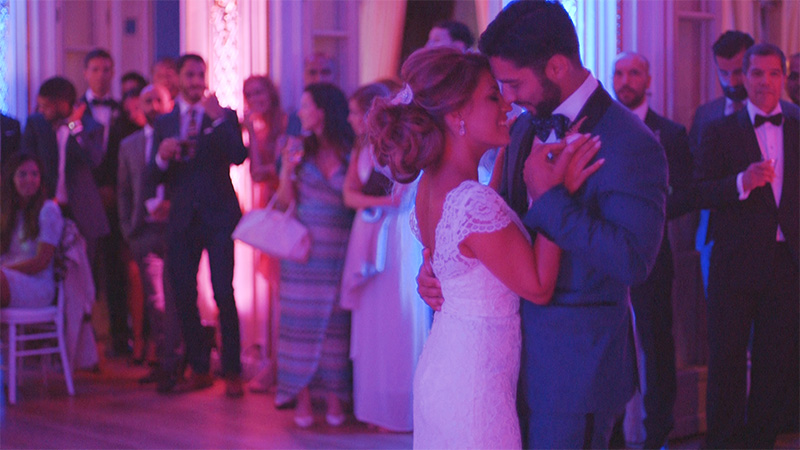 First dance Brollopsvideo Grand Hotel Saltsjobaden