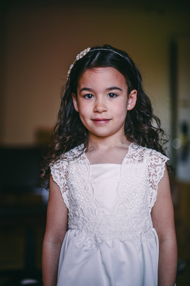 Flower girl Wedding Photographer Manchester
