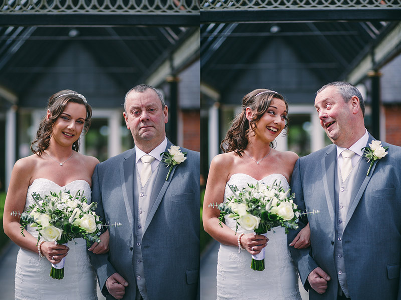 Wedding Photographer Manchester Father of bride