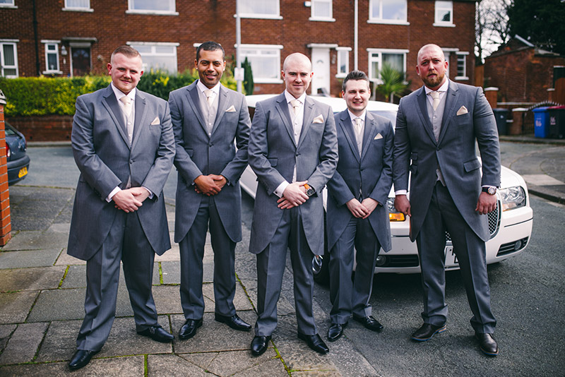 Groomsmen Wedding Photographer Manchester