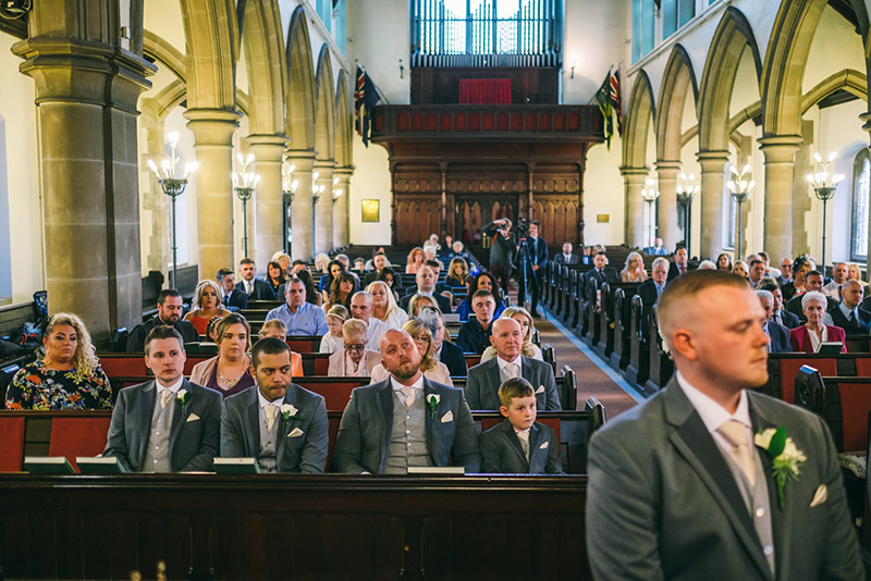 Wedding Photographer Manchester in church