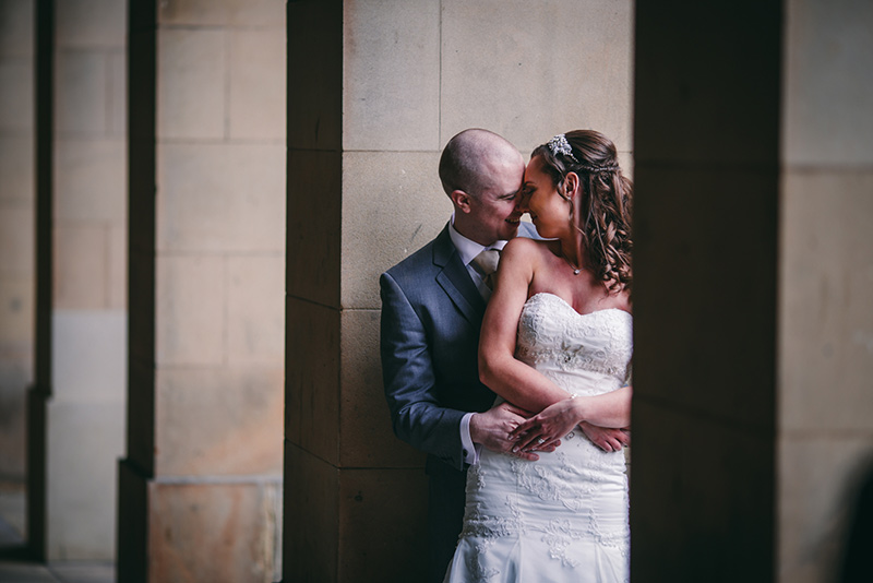 Wedding Photographer Manchester couple