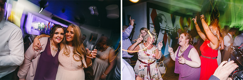 Wedding Photographer Manchester disco