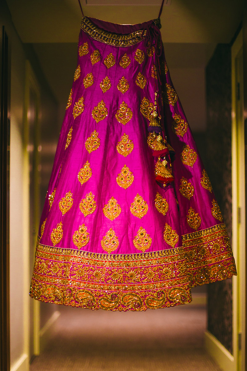 bridal gown Indian wedding