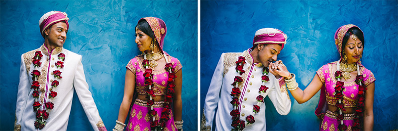 romantic couple shots Indian wedding