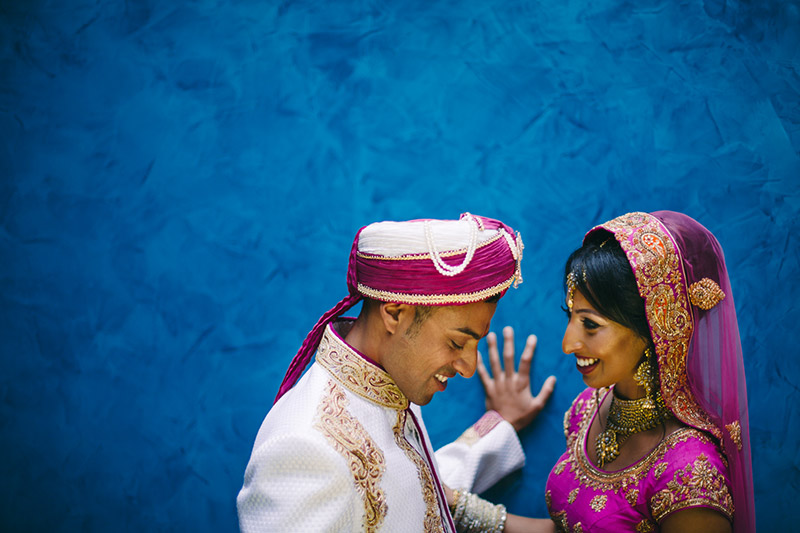 romantic couple photo Indian wedding