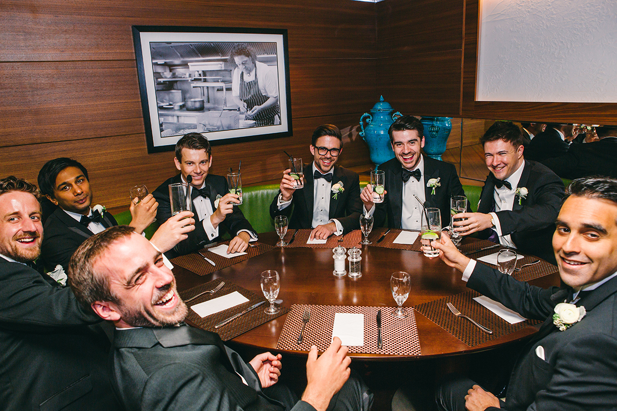 Wedding photography London groomsmen