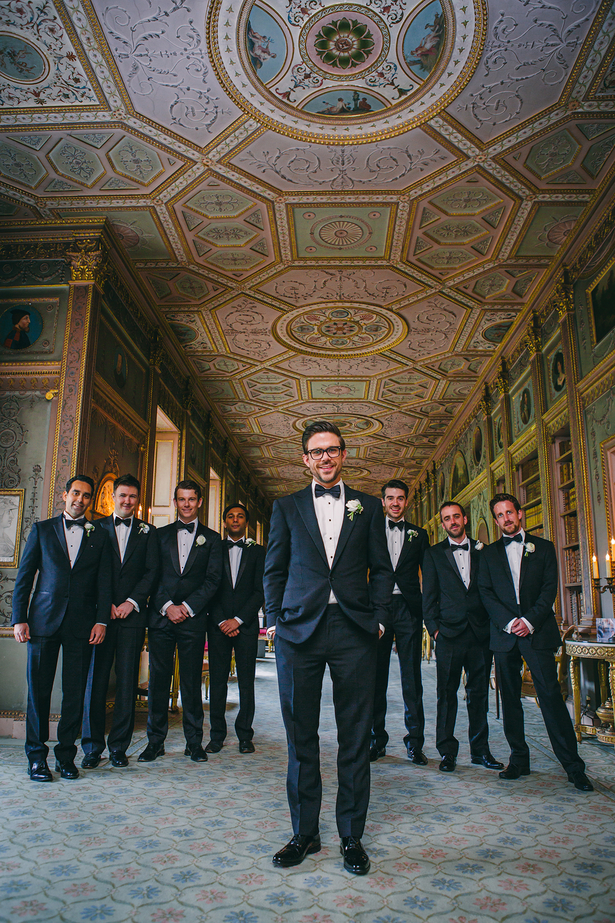 groom and groomsmen Wedding photography London