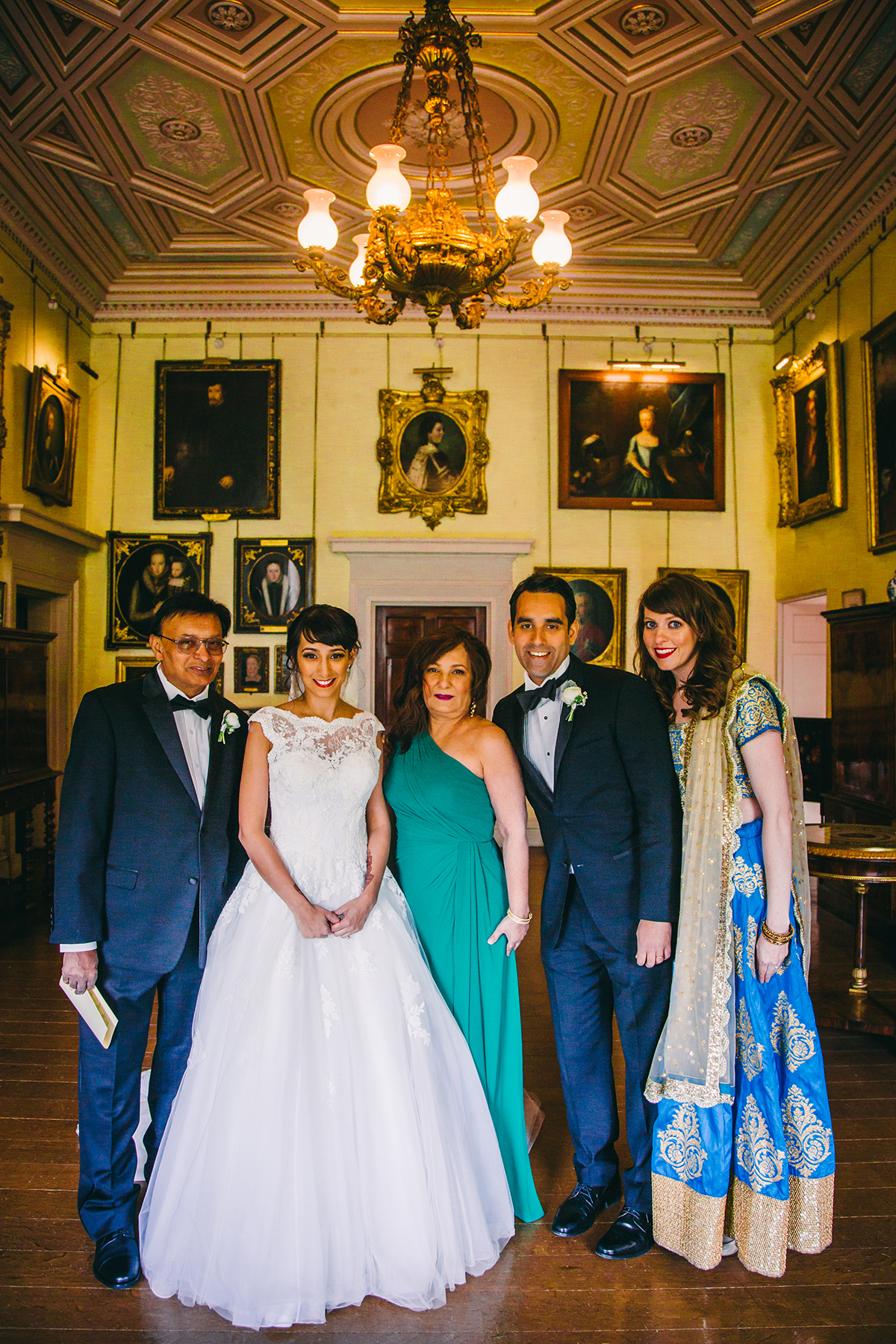 family group Wedding photography London