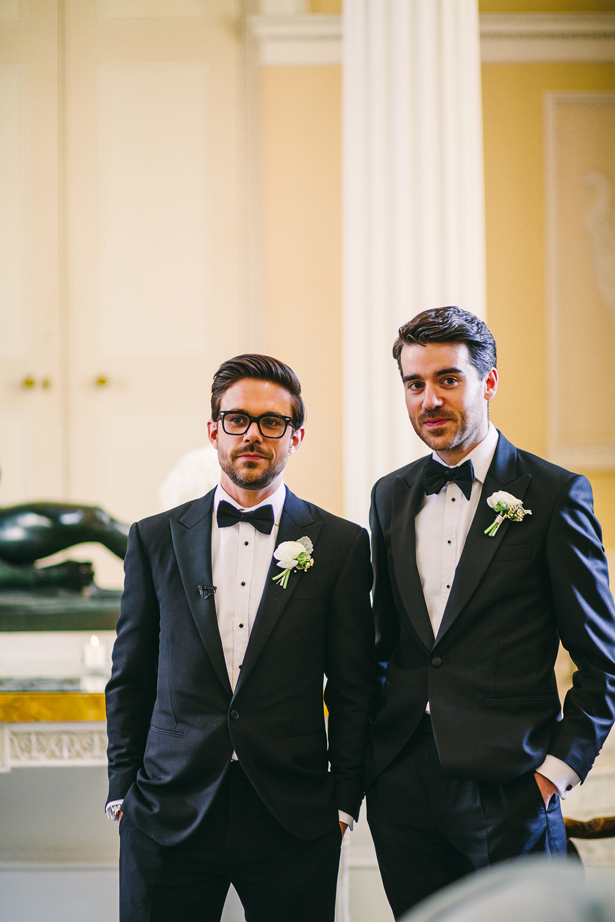 groom and best man wedding photography London