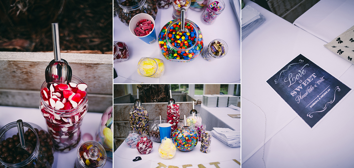 sweetie favours wedding photography London